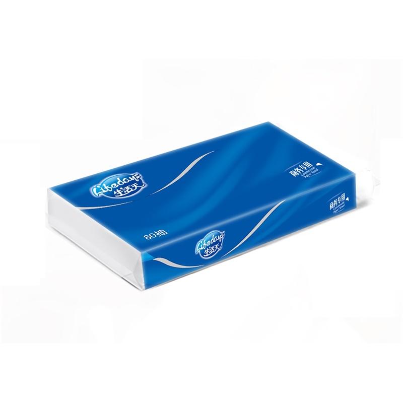 生活天高级商务软抽面巾纸80抽