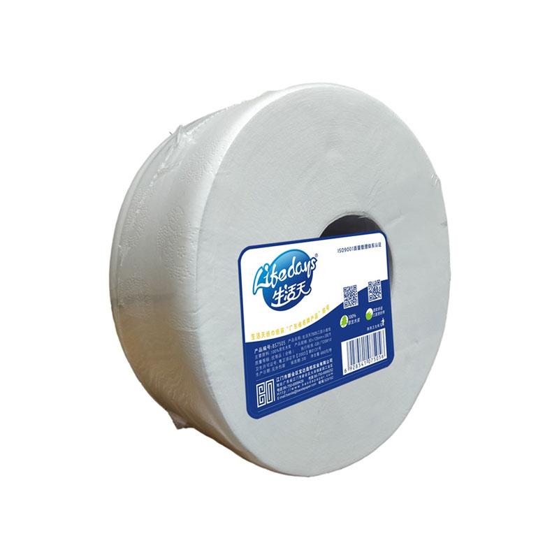 生活天7505三层小盘纸660g净含量