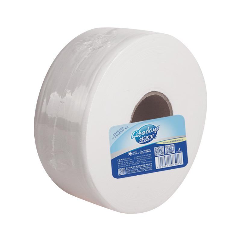生活天7501双层小盘纸610g净含量